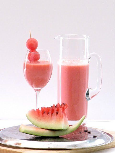 "<strong>Get the <a href=""http://food52.com/recipes/14635-watermelon-shake"" target=""_blank"">Watermelon Shake recipe</a> by Pla"
