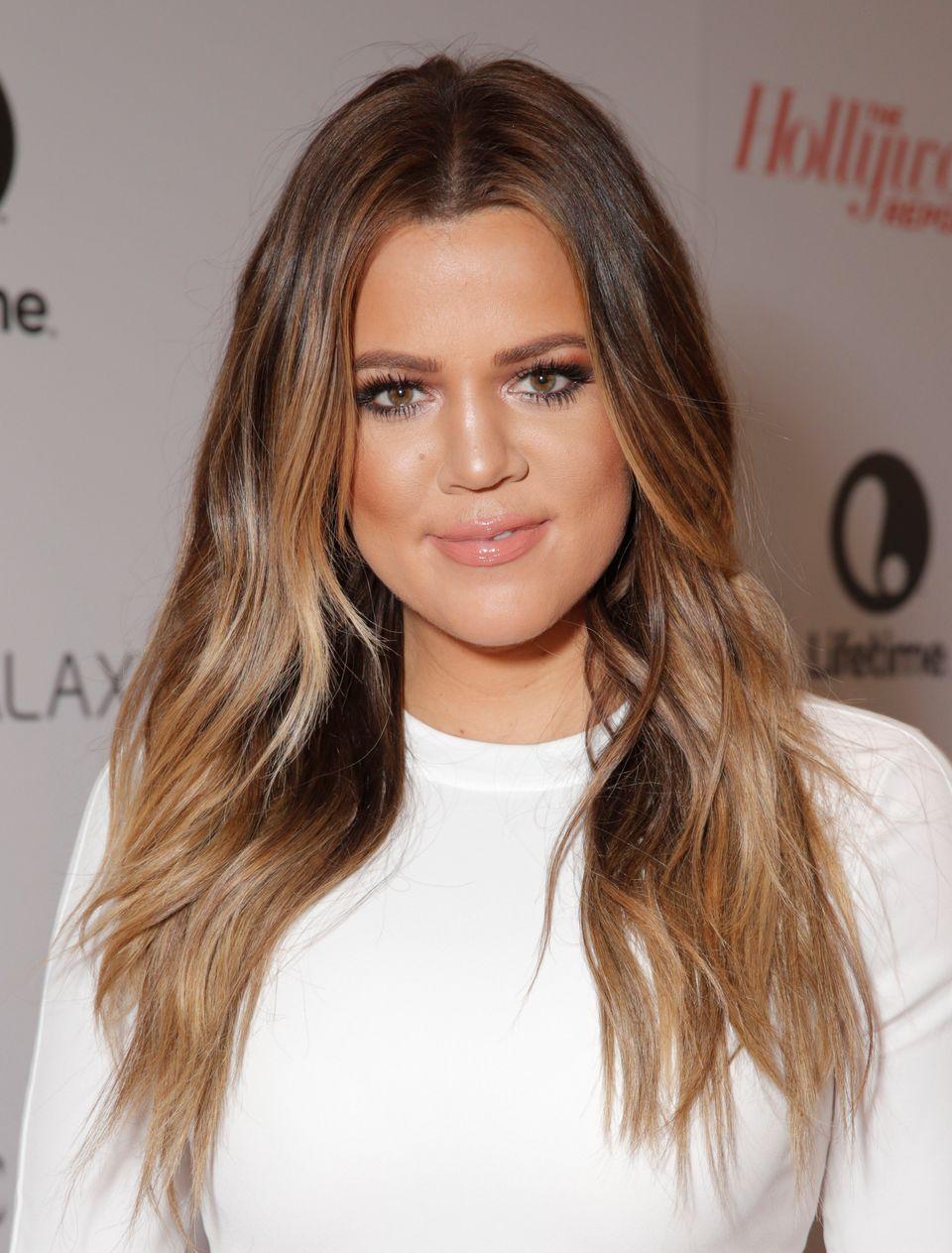Khloe Kardashian arrives at The Hollywood Reporter's celebration of power 100 women in entertainment breakfast on Wednesday,