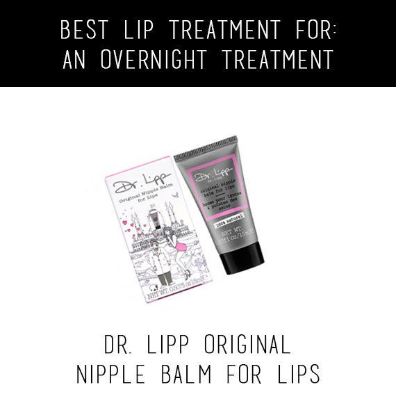 Nipple cream does wonders for your mouth...we're not kidding. Slather some on before you go to sleep and gently wipe off the