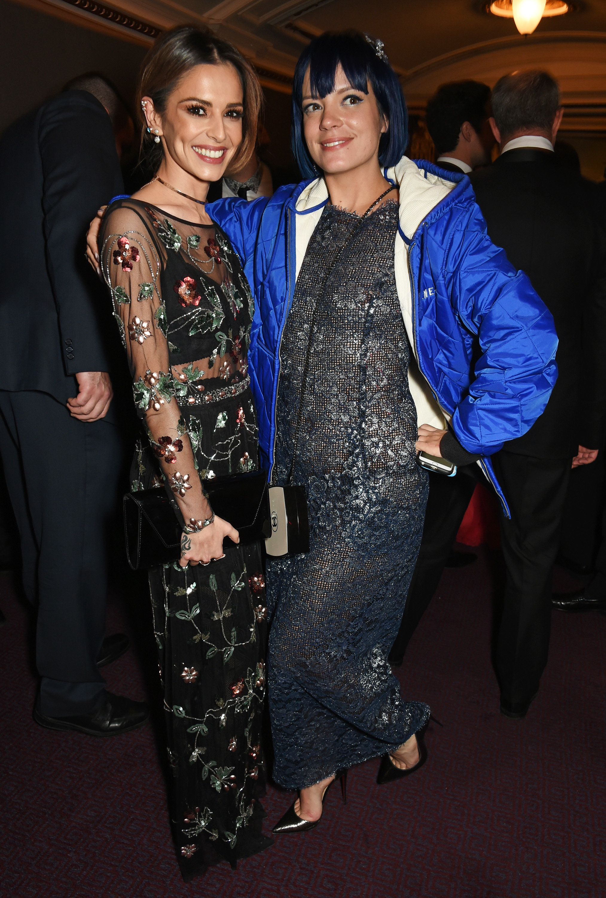 Cheryl and Lily Allen patched things up in 2015