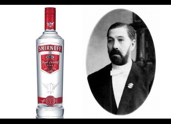 "Originally sold as <a href=""http://en.wikipedia.org/wiki/Smirnoff"" target=""_blank"">PA Smirnoff </a>vodka in Moscow during the"
