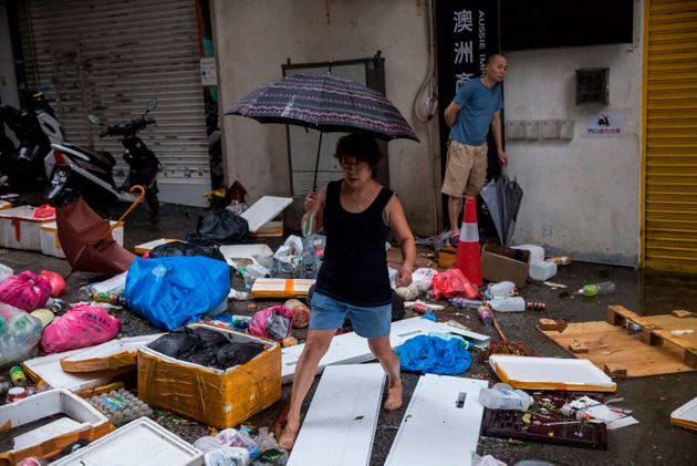 Philippines Typhoon: At Least 40 Trapped After Devastating