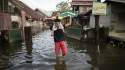 Philippines Typhoon: 40 Trapped After Devastating