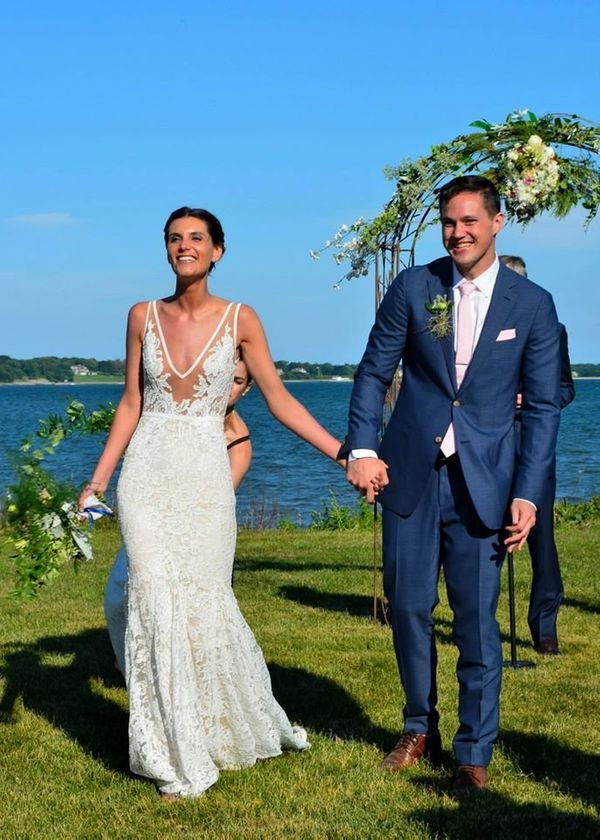 """""""Wedding of Laura and Will, Southhold, New York"""" -- Laura Saegert-Winkel"""