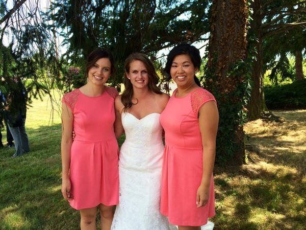 """My lovely sister's wedding!"" -- @GinnyButt"