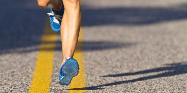Sore hip joint while running