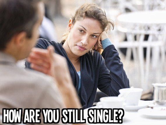 This just makes people feel uh-ma-zing. People don't know why they're single, it's not like they've sat around doing studies