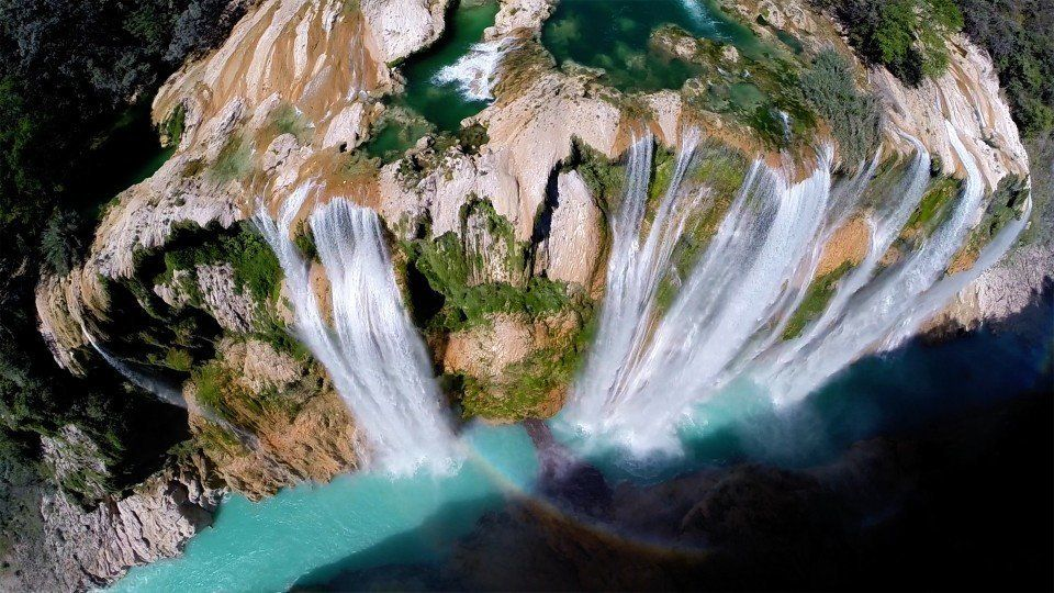 "Tamul waterfall in Mexico (Popular Prizes -- 1st Prize Winner: <a href=""http://www.dronestagr.am/author/postandfly/"" target="""