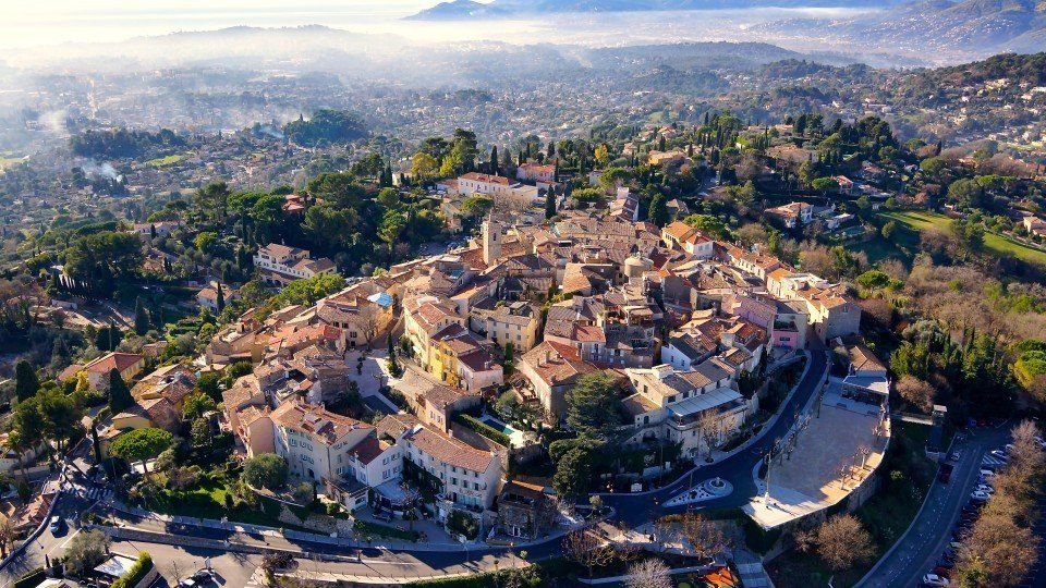 "The city of mougins near Cannes in france. (<a href=""http://www.dronestagr.am/mougins/"" target=""_blank"">mougins</a>)"