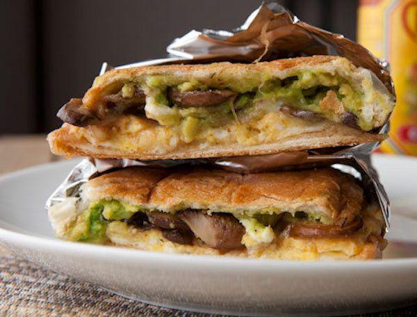 "<strong>Get the <a href=""http://www.macheesmo.com/2014/02/mushroom-torta//"" target=""_blank"">Mushroom Breakfast Torta With Avo"