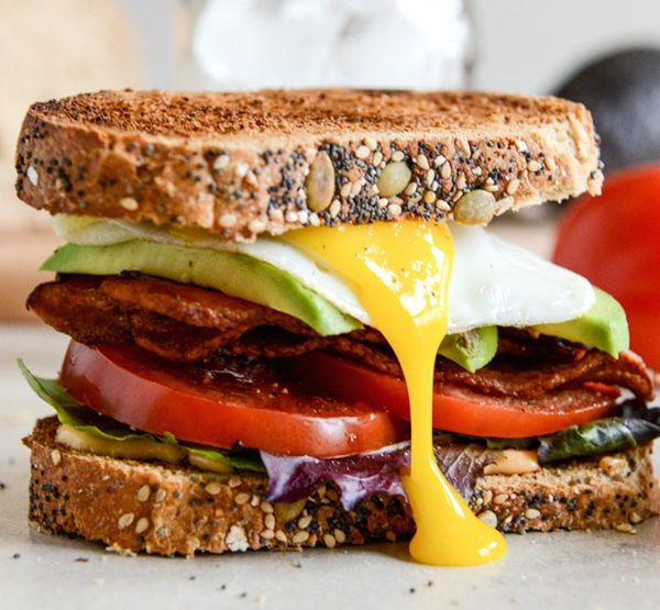 """<strong>Get the <a href=""""http://www.howsweeteats.com/2013/03/avocado-blts-with-spicy-mayo-and-fried-eggs/"""" target=""""_blank"""">Av"""
