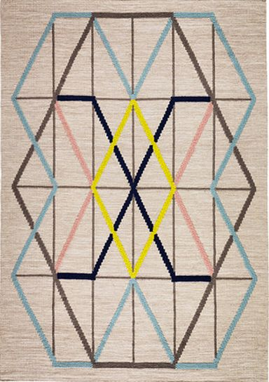 "<a href=""http://www.ikea.com/us/en/catalog/products/70264728/"" target=""_blank"">IKEA PS 2014 flatwoven multicolor rug</a>, $12"