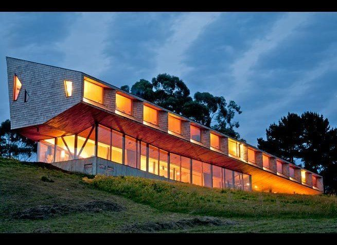 """<em>Photo Credit: Daniel Corvillon </em><strong>Where</strong>: Chiloé, Chile  The design inspiration for the new <a href="""""""
