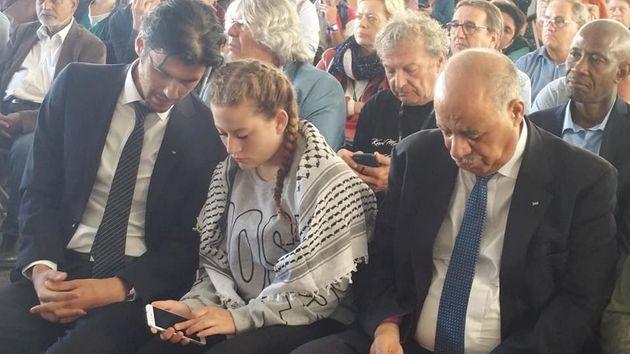 Ahed Tamimi, symbole de la résistance palestinienne