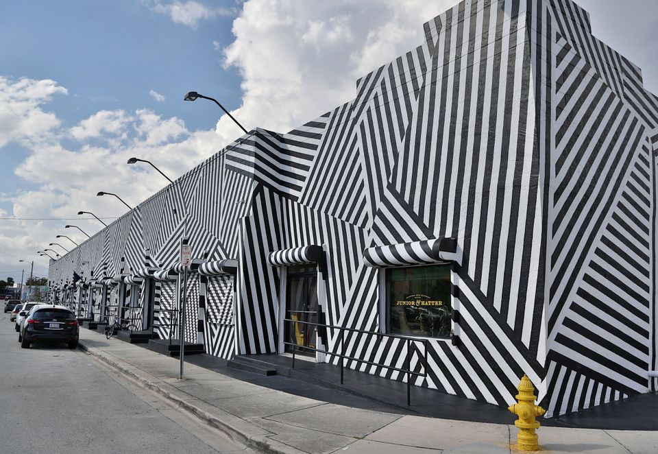 External view of the Wynwood Building in the Wynwood Art District on November 21, 2013 in Miami, Florida. (Photo by Alexander