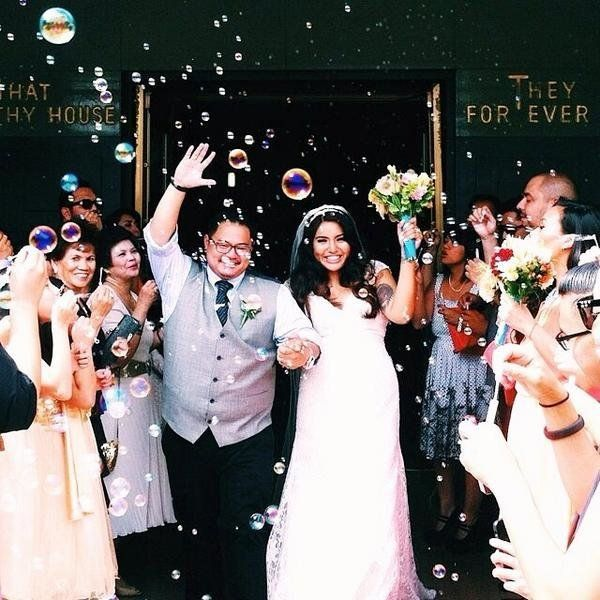 """Just got married on Saturday!"" - @jen_i_fer"