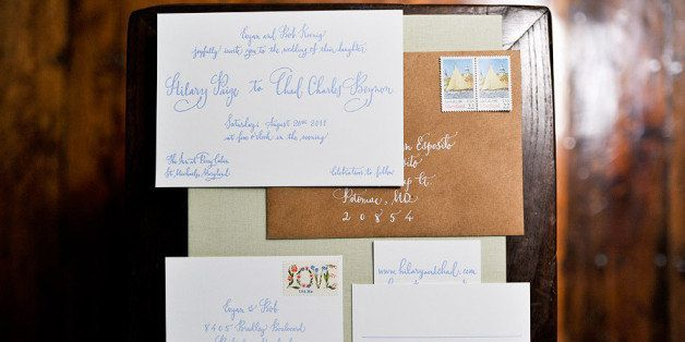 wedding invitations really should be addressed by hand here s why