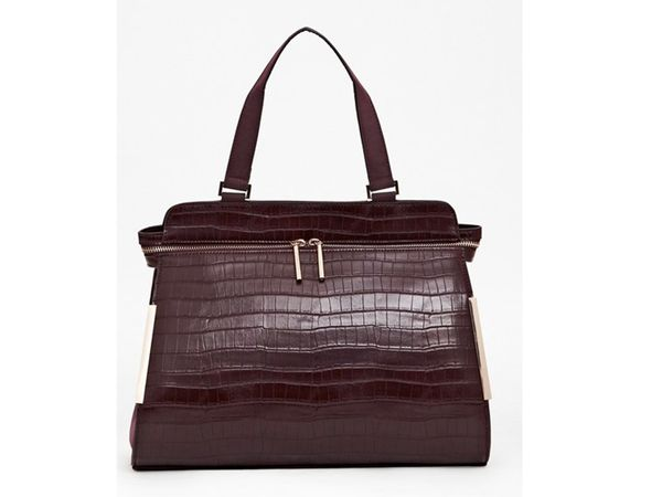 """<a href=""""http://keep.com/luciana-tote-bag-bags-french-connection-usa-by-instyle/k/1G0dJsABBU/"""" target=""""_blank"""">French Connect"""