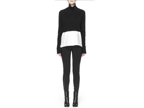 """<a href=""""http://keep.com/raleigh-sweater-by-instyle/k/1ECfwmgBNA/"""" target=""""_blank"""">Elie Tahari Raleigh Sweater, $398</a> (as"""