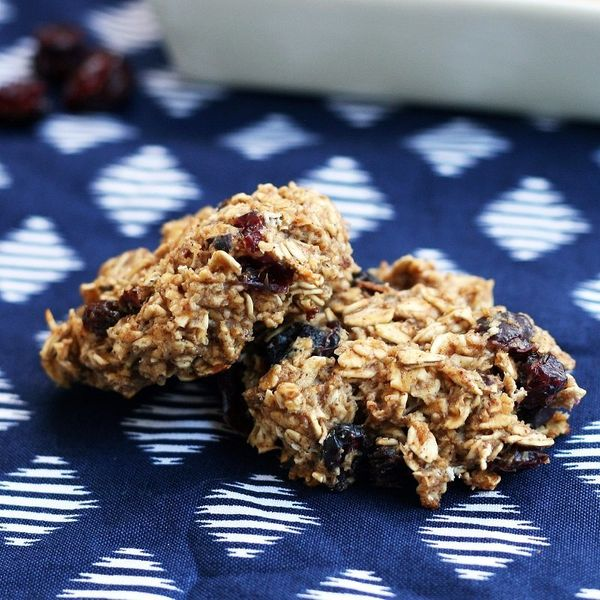 Don't freak out. These cookies contain cauliflower. They also boast cottage cheese and prunes. Why not? Texture-seekers, try