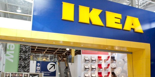 SYDNEY, AUSTRALIA - SEPTEMBER 1: (AUSTRALASIA & EUROPE OUT) A man walks past a Manland sign in an IKEA store, on September 1,
