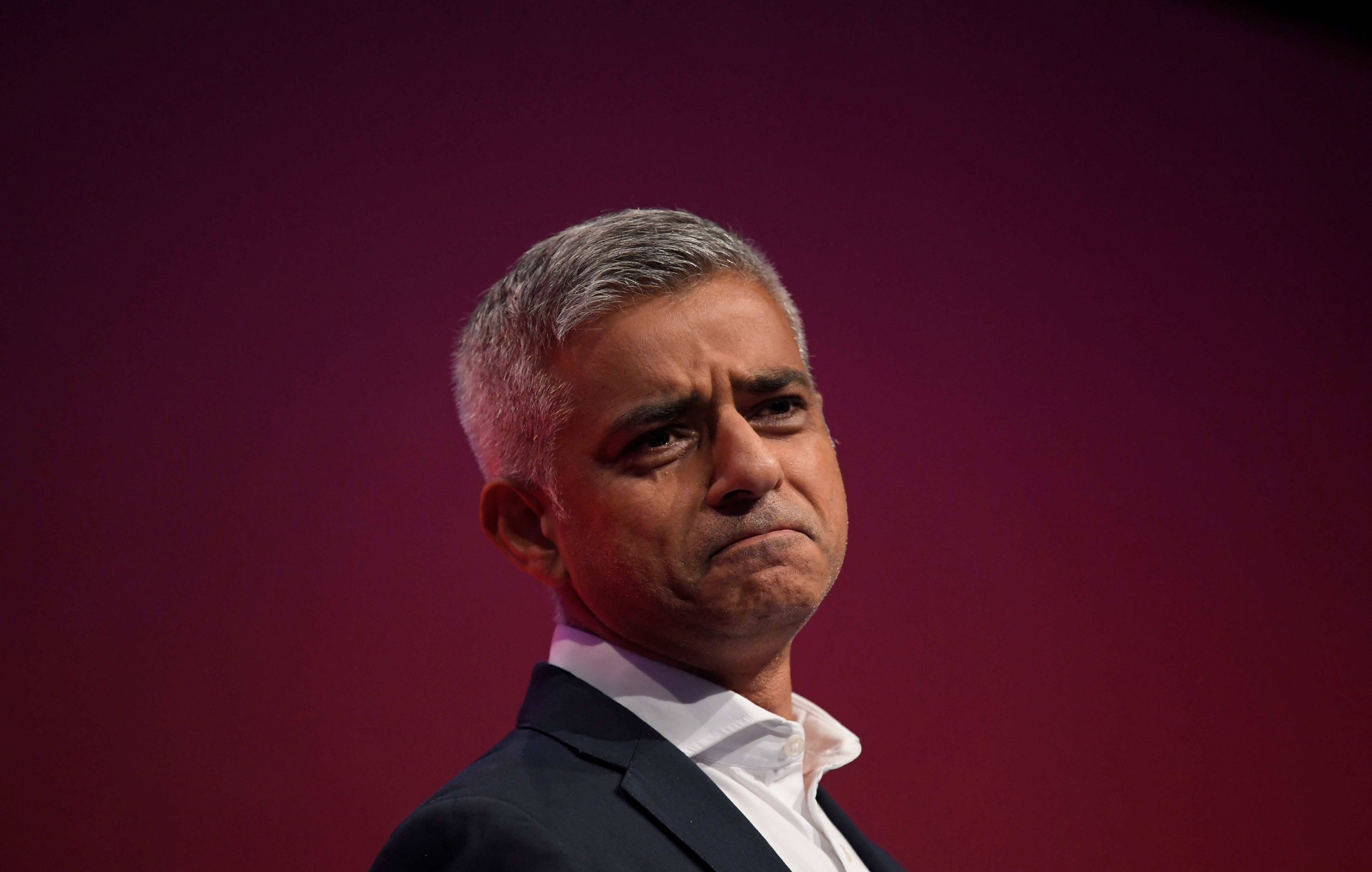 The mayor of London, Sadiq Khan, is pushing for a second Brexit