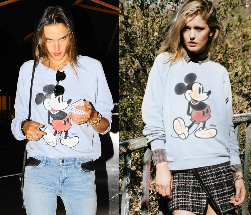 """<a href=""""http://www.junkfoodclothing.com/catalog/product/view/id/18661"""" target=""""_blank"""">Junkfood Mickey Mouse Fleece</a>, $74"""