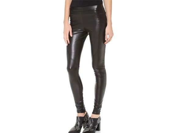 "These leggings can go from day to night, especially on the weekends. <br> $135, <a href=""http://bit.ly/1vI6Oky"" target=""_blan"