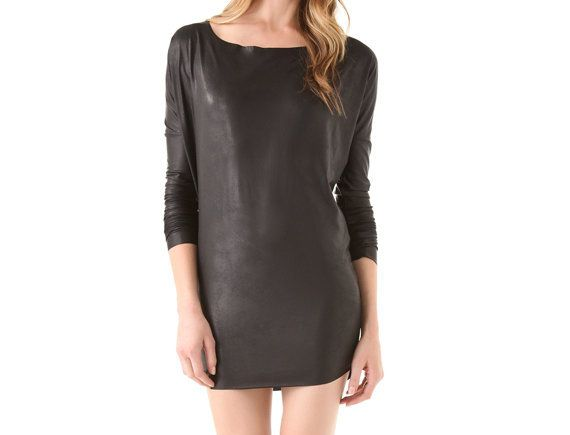 "Heat up your date night with this cool little black dress.  <br>  $154, <a href=""http://bit.ly/1lsRCas"" target=""_blank"">Shopb"