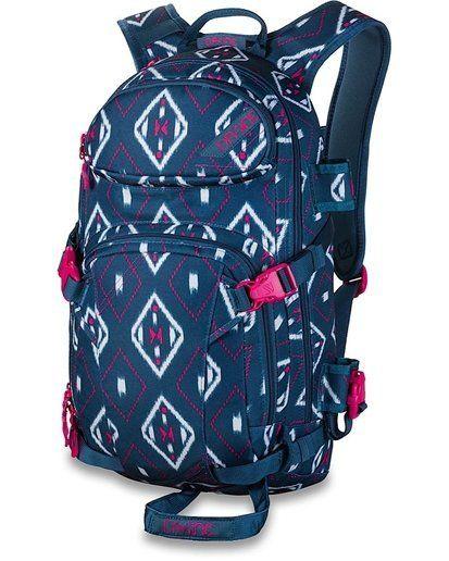 "$90 <a href=""http://www.dakine.com/p/backpacks/womens-street-backpacks/fall-14-winter-15/womens-heli-pro-18l?clr=SALIMA"" targ"