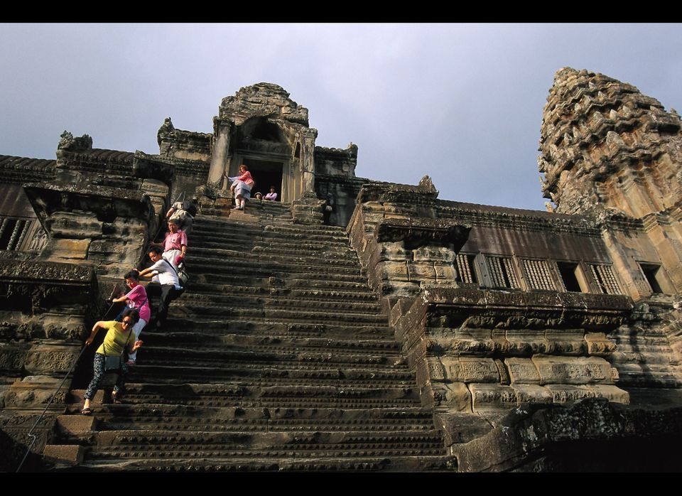 """<strong>See More of the <a href=""""http://www.travelandleisure.com/articles/worlds-scariest-stairs/9?xid=PS_huffpo"""">World's Sca"""