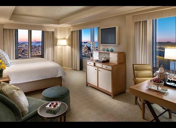 <em>Photo Credit: Courtesy of Mandarin Oriental, San Francisco</em>  While several of the city's high-rise hotels have room