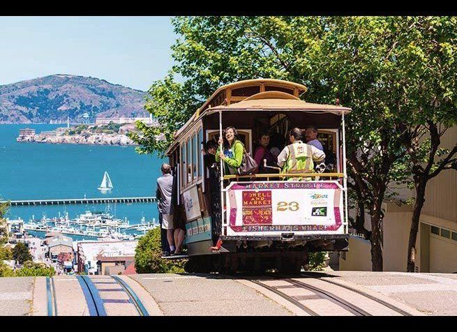 """<em>Photo Credit: holbox / Shutterstock</em>  The city's most famous cable car line (from Powell and Market to <a href=""""htt"""