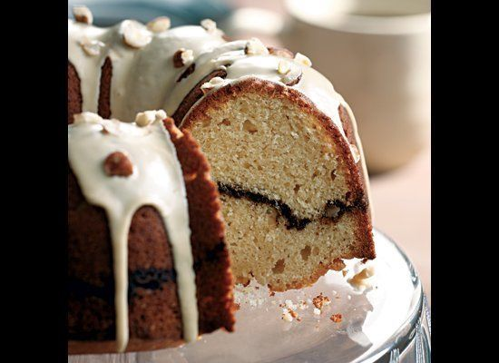 In this cake recipe, the coffee flavor carries through every component, including the batter, the streusel filling and the su