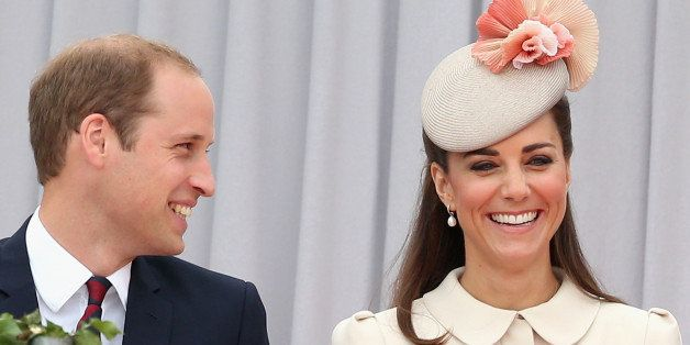 Attending a ceremony to commemorate the centenary of the start of the First World War, Britain's Duke and Duchess of Cambridge, at the Cointe Inter-allied Memorial, Liege, Belgium, commemorating the 100th anniversary of the start of the First World War, Monday Aug. 4, 2014. The ceremony pays homage to the victims of the First World War, both soldiers and civilians, from Belgium and abroad, who lost their lives on Belgian soil. (AP Photo / Chris Jackson, Pool)