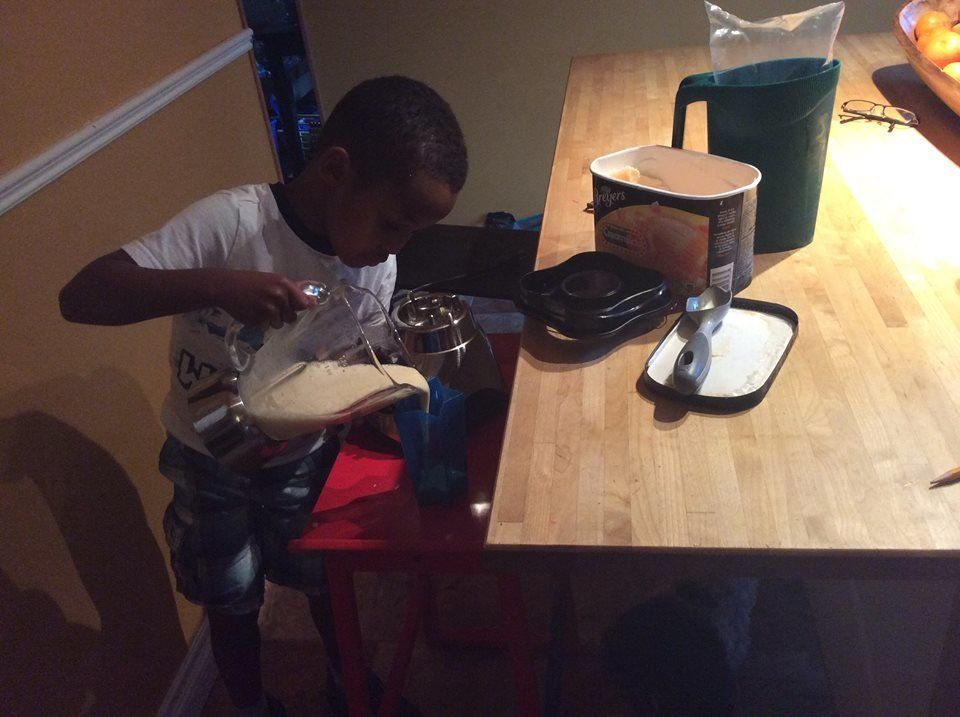 """""""Making milkshakes!"""" -Lorie LM"""