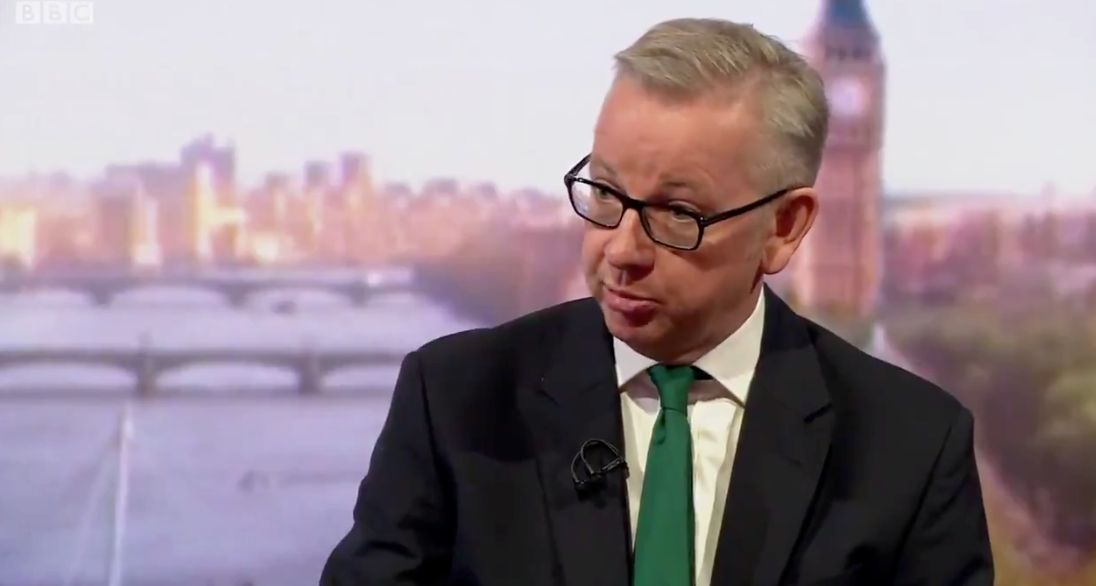 Michael Gove Links UK's Extreme Summer With Climate Change