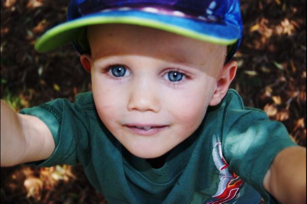 My 2-year-old son who was diagnosed with Ewing's Sarcoma in April 2010. <em><strong>He is currently four years in remission a