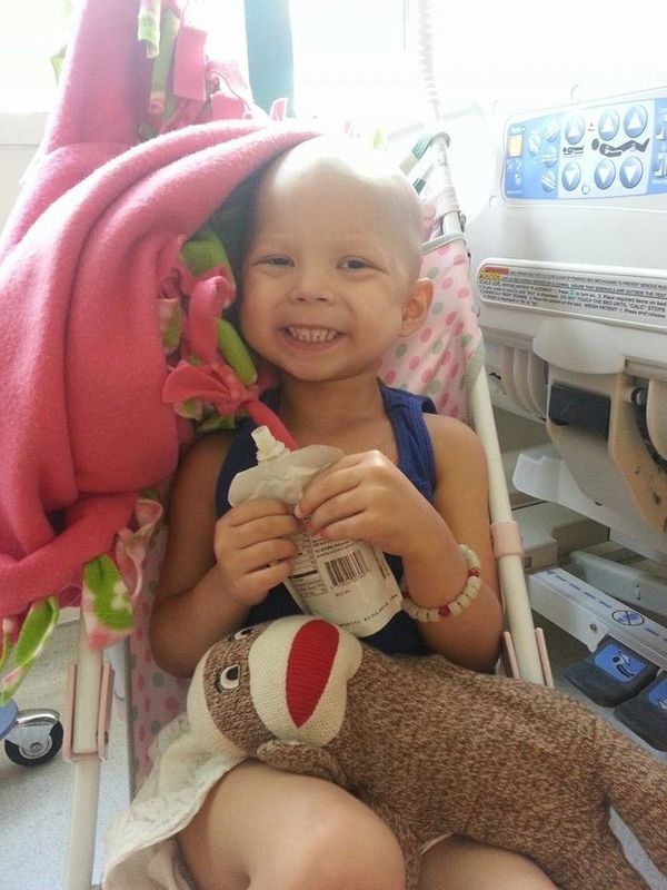 My daughter Adriana, age 3, soon to be 4, was diagnosed with ALL (leukemia). It was found in her blood, spinal fluid, and bra