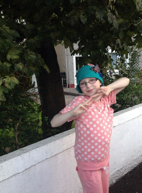 My niece, Grace, is 9 years old and has relapsed twice with neuroblastoma. <em><strong>She says herself that she will never g