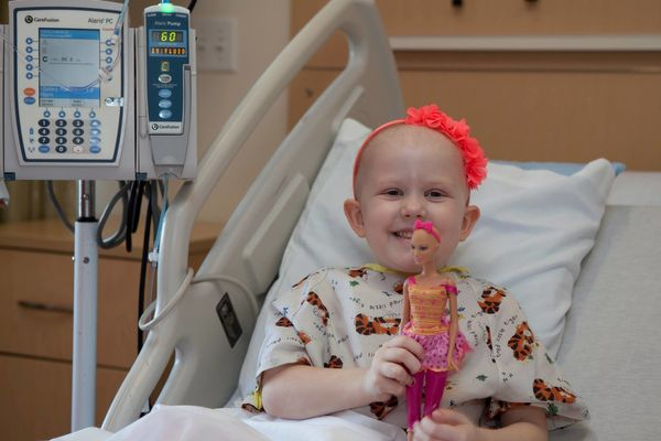 Grace has Ph+ leukemia but we are learning how to find a way to smile, laugh, be thankful, and how to help others no matter w