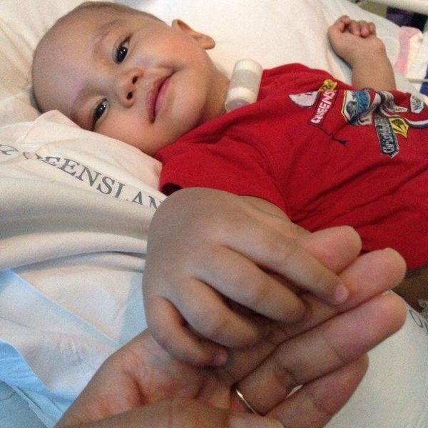 Our Brave Little Man, Zion-Vaioleali'i, was diagnosed with a form of brain cancer called ependymoma, on March 6th, 2014. He h