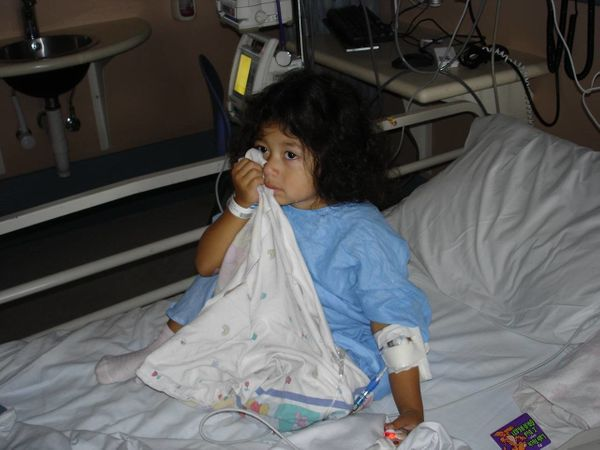 Our daughter, Marielle, was 3 years old when she was diagnosed with acute lymphocytic leukemia. She is now 12 years old, a su