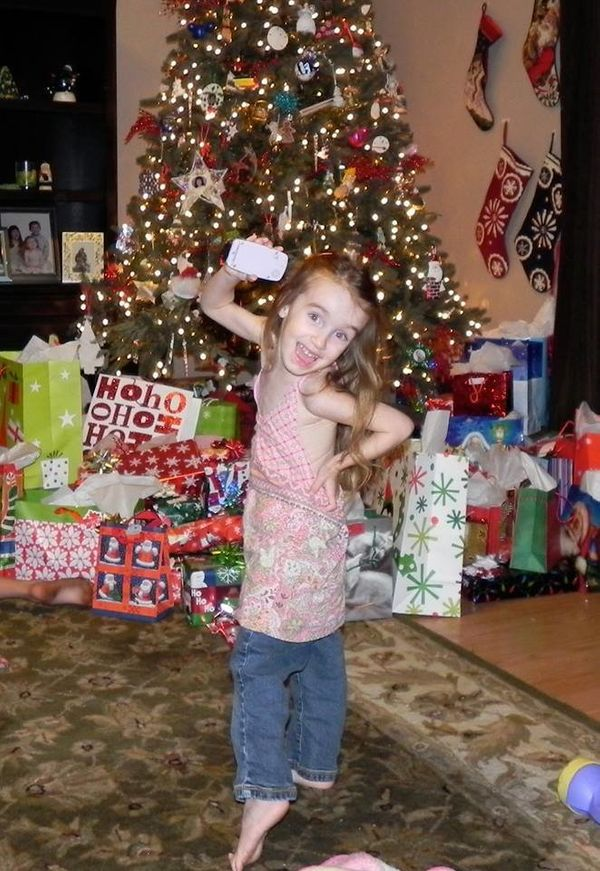 This is Tatumn and the last healthy Christmas we had with her. She was diagnosed at the age of 3 with a DIPG brain tumor. She