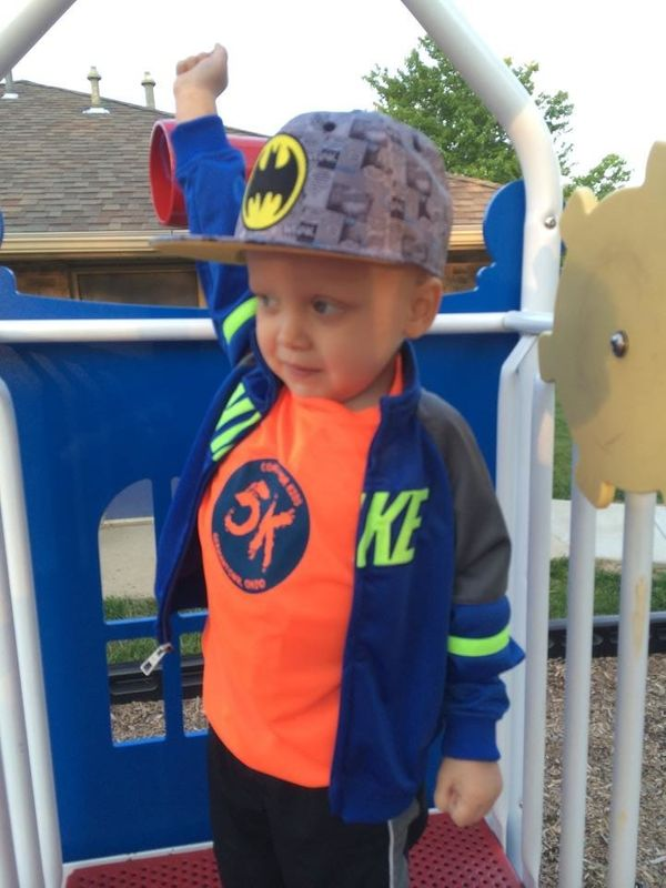 This is my son Aiden. He will turn 3 in here on September 14th. He was diagnosed with stage 4 neuroblastoma in March and <em>