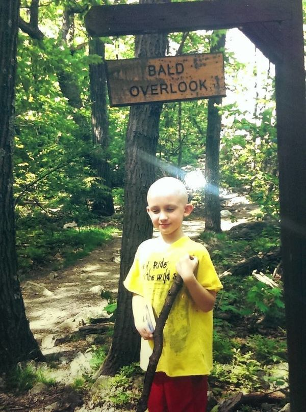 My son Porter, 11 years old. He was diagnosed with acute lymphoblastic leukemia in October of 2012 at age 8. Has been going t
