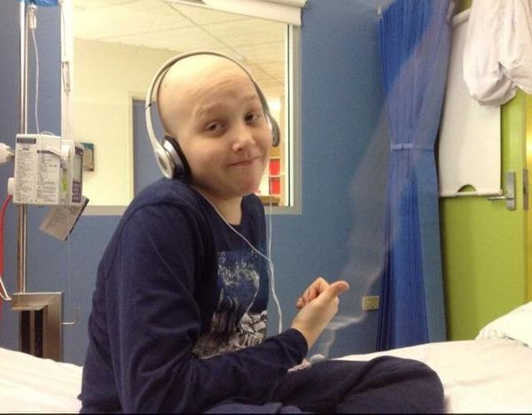 Our son Saxon is 11 and on his second battle with beating cancer. He was first diagnosed in January 2013 with wilms tumour an