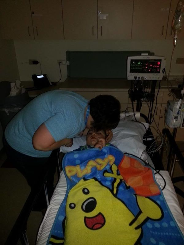 <em><strong>Never knew worry until my son was diagnosed with leukemia.</strong></em> Past three years have been indescribable