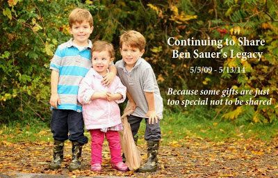Ben Sauer gave us ALL more reason to live. His family is by far, one of the most remarkable families alive. <em><strong>Fly h