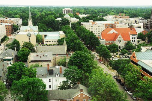 <strong>Neighborhood: </strong>Morrisville (Town) <br><strong>% Age 25-34: </strong>14% <br><strong>Median Rent: </strong>$85